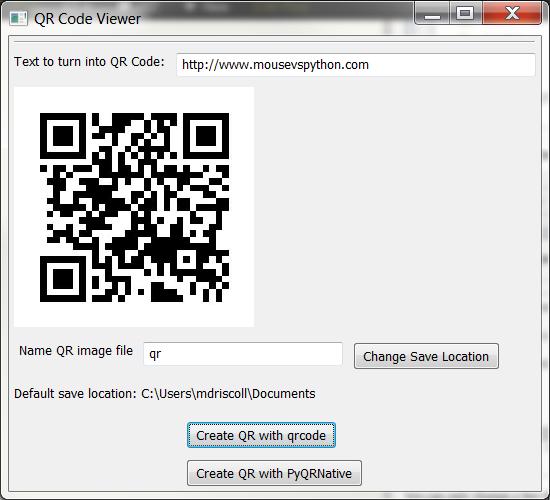使用 Python 生成二维条形码 QR Codes