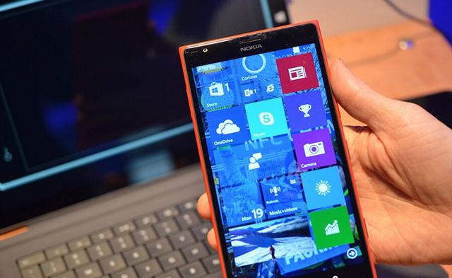 界面略感粗糙:Windows 10手机预览版截图流出