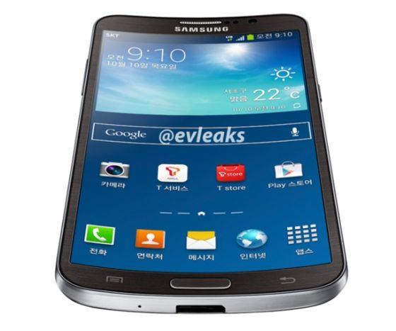 三星柔性屏手机曝光:类似Galaxy S4