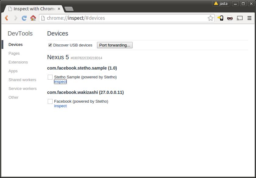 使用Chrome来调试你的Android App