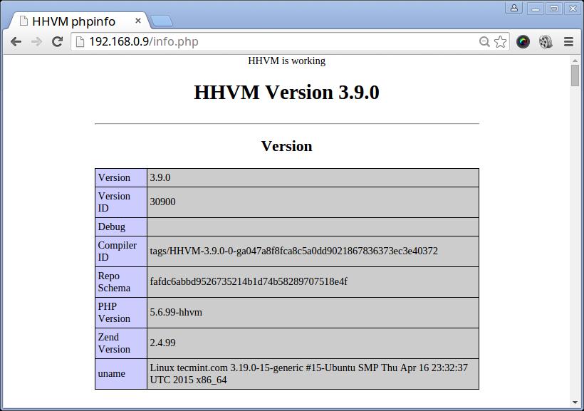 在 Ubuntu 上配置高性能的 HHVM 环境