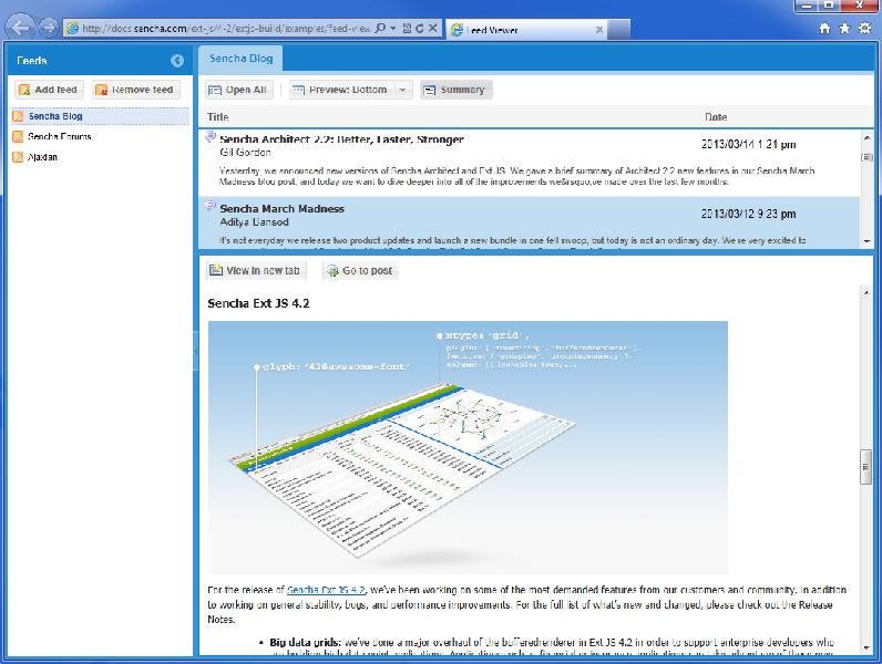 ExtJS 4.2 介绍