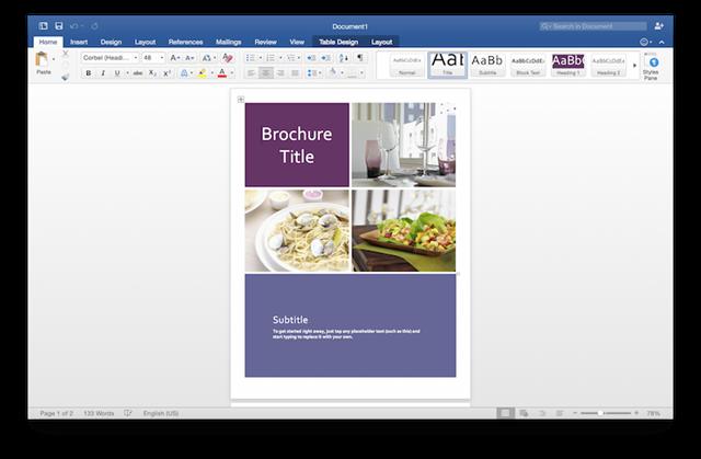 Office 2016 for Mac预览版更新,修复为主