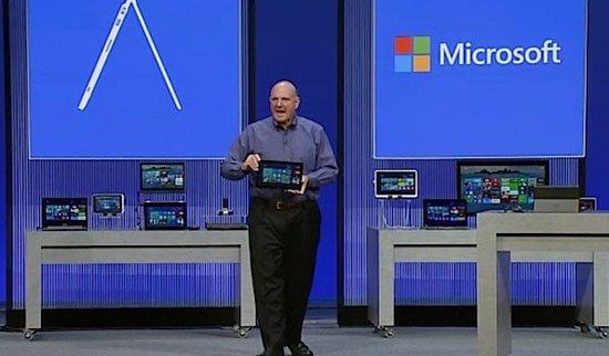 微软CEO鲍尔默欲借Windows 8.1混合本挑战iPad