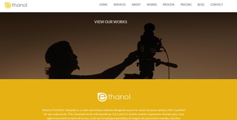 20 +很棒的免费响应式HTML5 CSS3,Bootstrap 模板