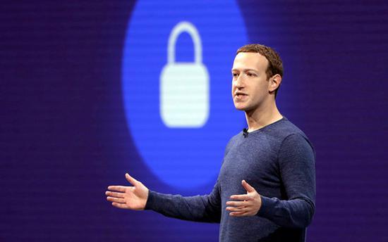 扎克伯格和他的脸书可能被罚 50 亿美元 @IC photo