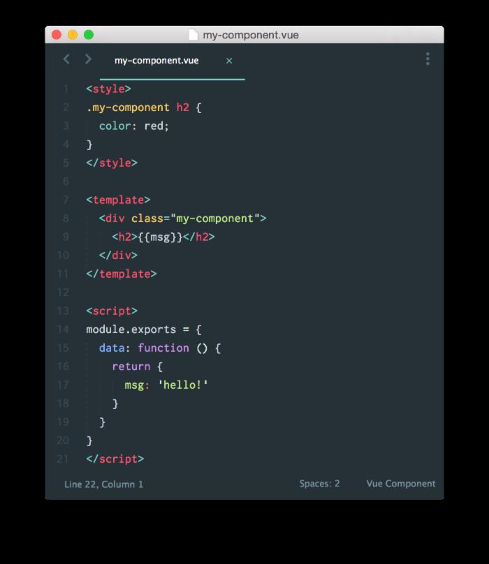 Vue.js基本语法的介绍