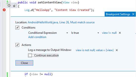 Visual Studio Update 1 为Android项目加入Java支持等功能