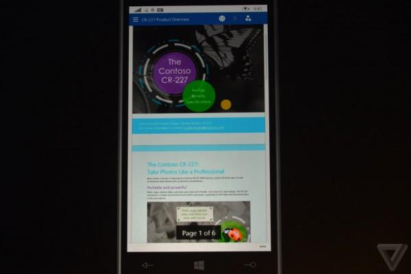 微软推新版手机Office:PPT切换更流畅 Outlook似iOS应用