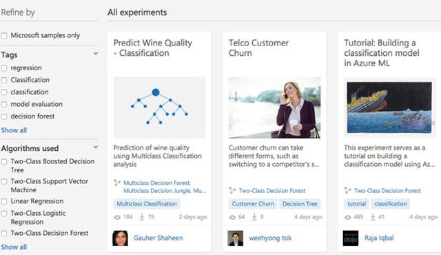 微软正式发布Azure机器学习平台