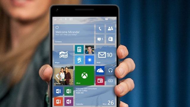 微软推送Win 10手机版Build 10136,10145已在内部测试