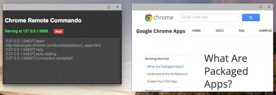 Chrome 开始支持 TCP Listen API