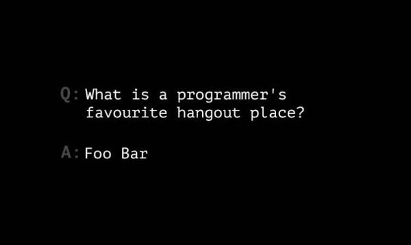 有哪些好笑的关于程序员的笑话?