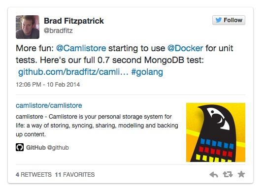 使用Docker和Golang进行便捷的MongoDB测试