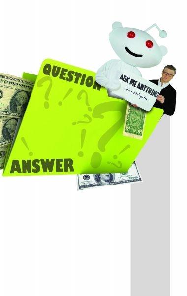 比尔·盖茨谈财富:我在地上看见100美元也会捡
