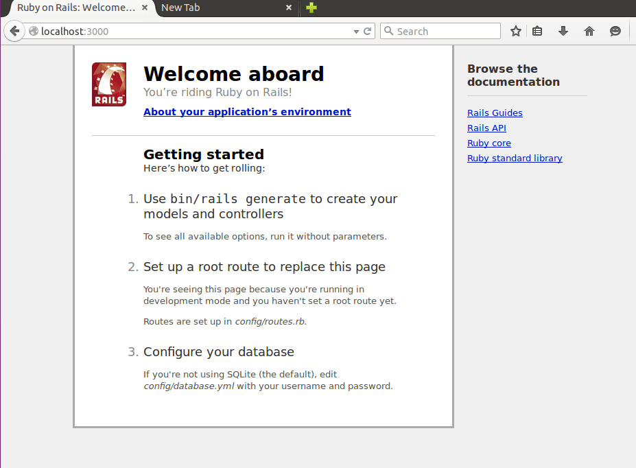 在Ubuntu 15.04中安装Ruby on Rails