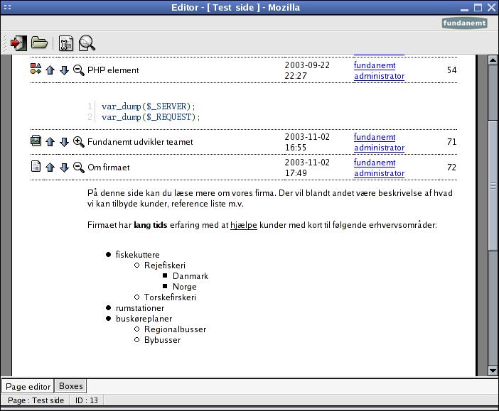 PHP开源内容管理系统(CMS) Fundanemt