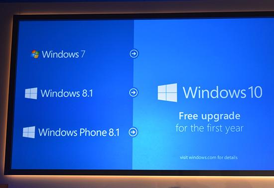 微软正式发布Windows 10:推进跨平台融合