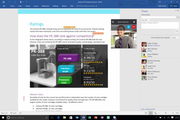 微软正式发布Office 2016 10月1日开始更新