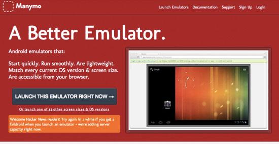 Manymo:Web版模拟器让Android开发更简单
