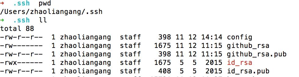 git 配置多个SSH-Key