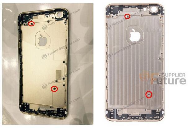 iPhone 6s Plus外壳曝光:再也掰不弯了!