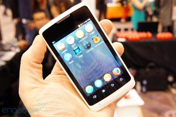 全球首款Firefox OS手机图赏