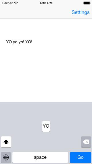 iOS 键盘:ACKeyboard