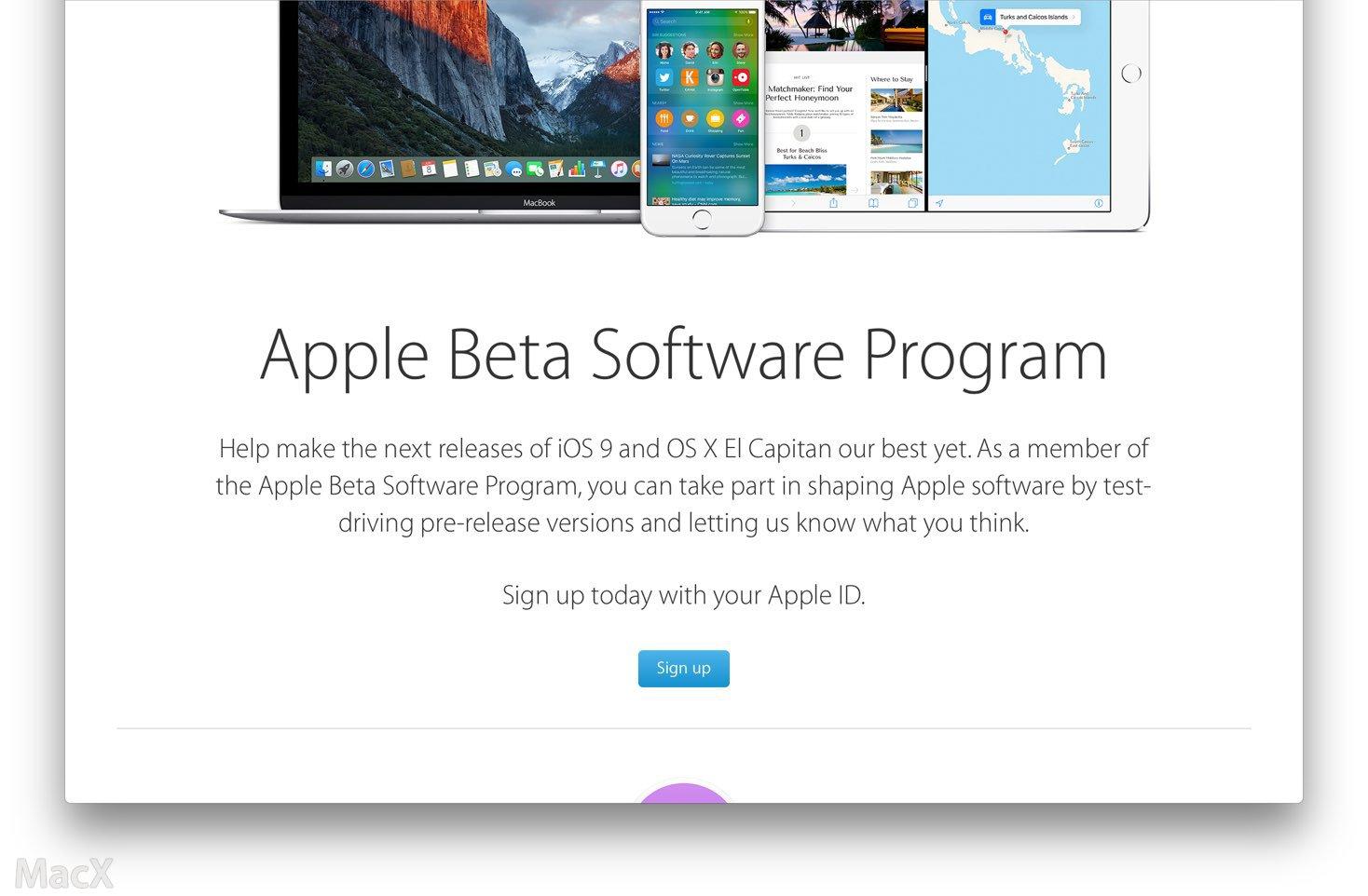 OS X El Capitan 10.11 公测版已正式发布下载