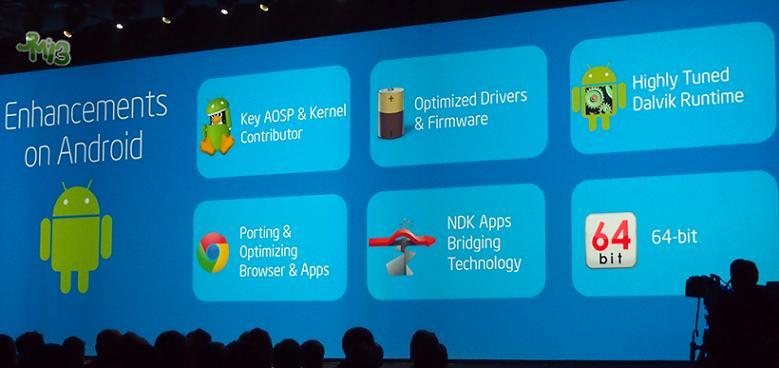 64 位的 Android 平台级支持将很快发布