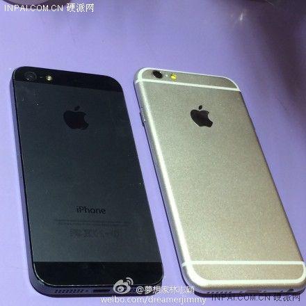 真要来了 林志颖曝光iPhone 6真机照片