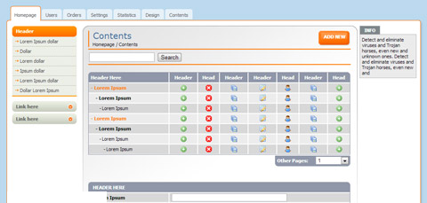 推荐12个非常不错而且免费的后端管理HTML模板