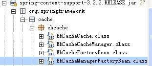 spring基于注解Ehcache缓存整合