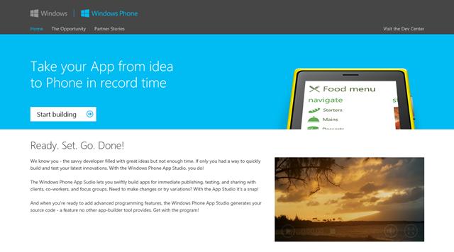 微软再次更新 Windows Phone App Studio 工具