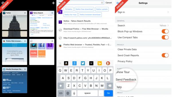 Firefox for iOS 首个公共预览版发布,只限新西兰