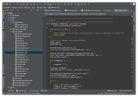 Android Studio 1.3 RC1 发布,支持 Android NDK