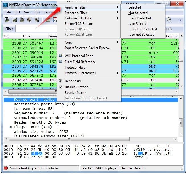 一站式学习Wireshark(一):Wireshark基本用法