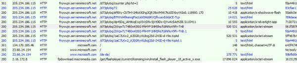 恶意程序更新Flash防止它被其它恶意程序利用