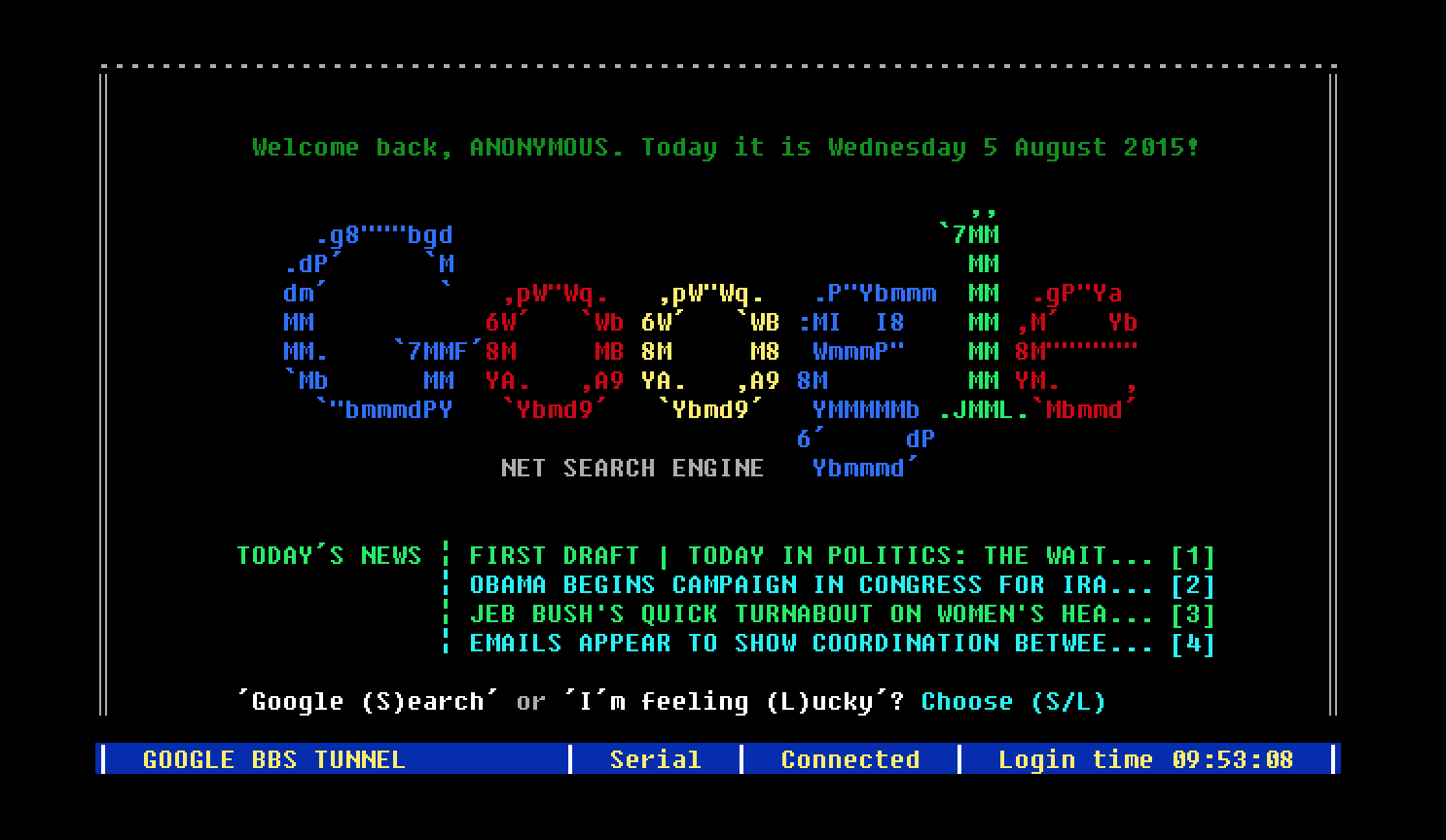 如果Google出生在上世纪80年代,会是什么样子?