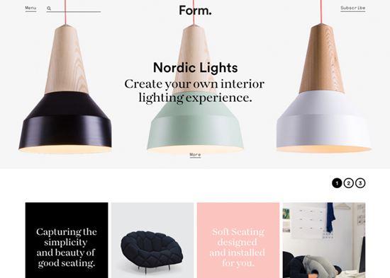 2015年5个最好的网站设计布局的趋势
