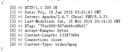 PHP获取本地文件、远程文件的大小