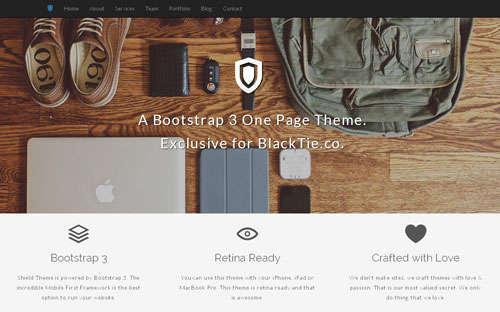 20 个免费的 Bootstrap 模板
