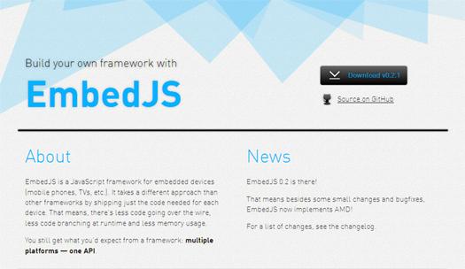 17个实用的移动Web开发JavaScript框架