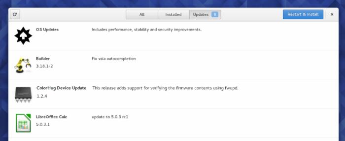 Fedora 23 Workstation 新特性介绍