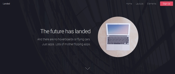 Landed - free html5 templates