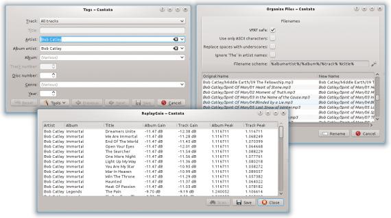 Linux 音乐播放器:Cantata