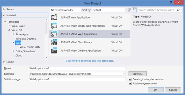 新版 Visual Studio