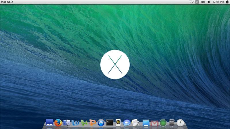 Ubuntu 14.04 下的MAC OS X 主题安装