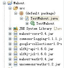 mahout 推荐系统示例代码