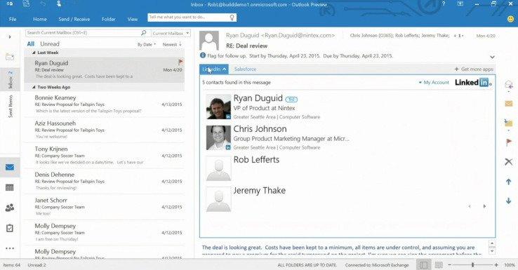 微软向第三方插件开放 Outlook.com